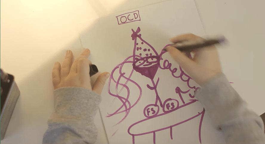 OCD Thief Drawing