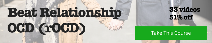 Relationship OCD (rOCD) course banner
