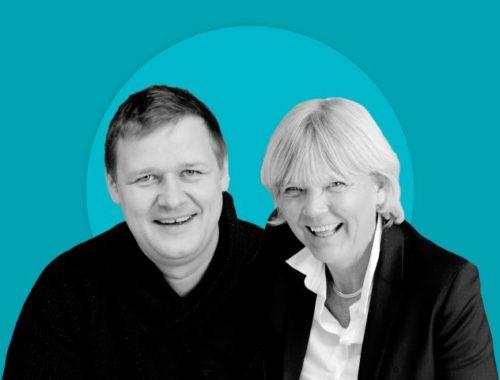Gerd Kvale and Bjarne Hansen