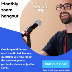 Monthly zoom call