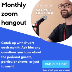 Zoom hangout October